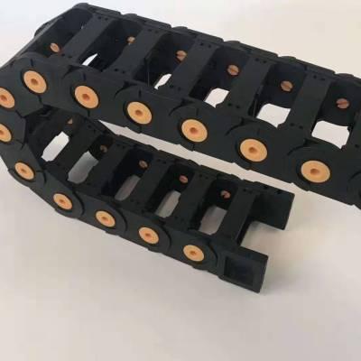 专业定制 塑料拖链规格型号 坦克链 挖掘机配件拖链轮