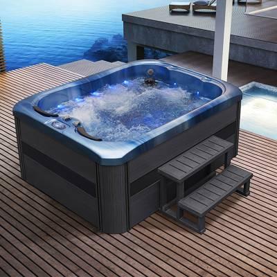 江苏南京奕华卫浴2.15mmSPA按摩冲浪浴缸亚克力 水力按摩池庭院浴缸 家用 成人温泉