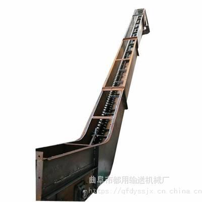 厂家直销耐高温新型能耗低饲料刮板输送机_化工行业用优质带式刮板输送机