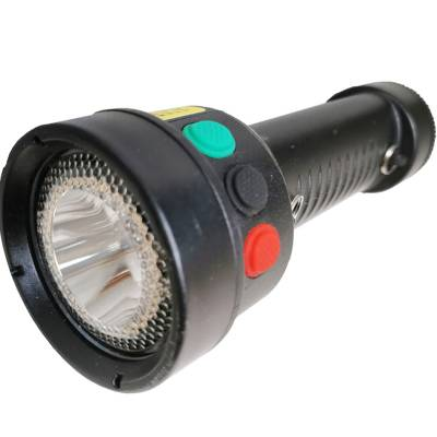 BQ6200红黄绿三色信号光源LED袖珍手电