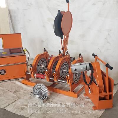 全自动PE热熔对接焊机燃气管道专用焊机加热板自动弹开现场打印数据