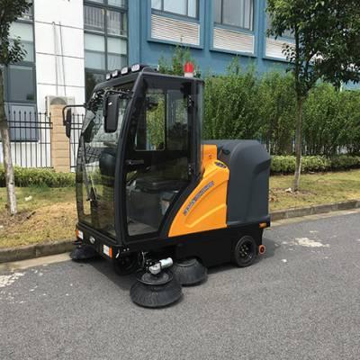 电动扫地机-南博自驱动洗地机-电动扫地机招商