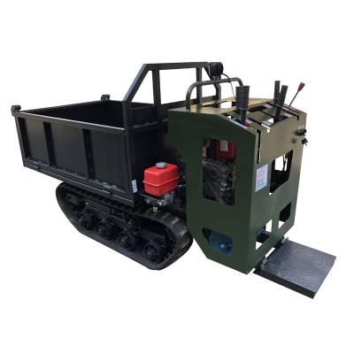 履带运输车 小型山地农用自卸 手扶爬山机