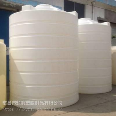圆柱形聚乙烯PE15立方水箱水塔水柜水桶厂家直销南昌毅鹏塑胶15000升