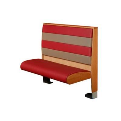 美式风格连锁快餐厅固定卡座沙发