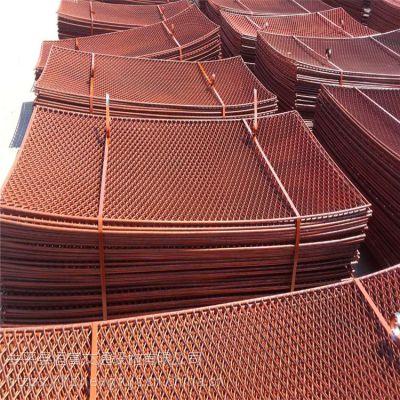 安平恒富 专业生产 钢板拉伸网 菱形孔钢板网 钢笆片