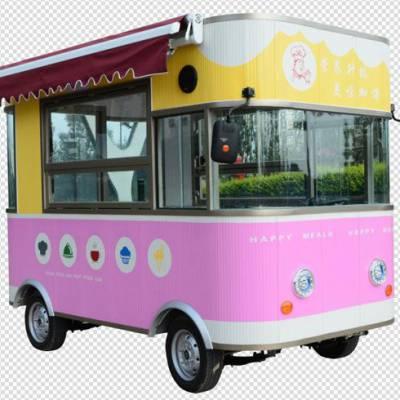 厂家直销电动创业餐车小吃车