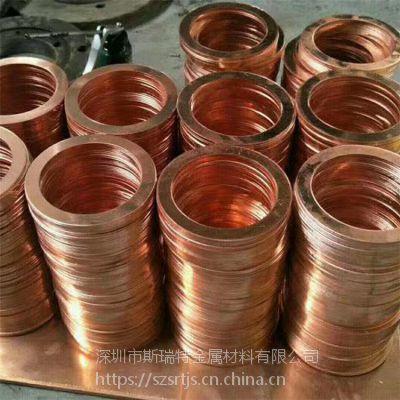 C1100紫铜片0.1 0.2 0.3 0.4 0.5超薄纯铜片 紫铜圆片定制加工