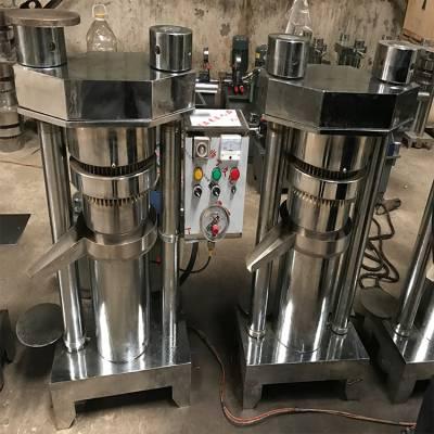 小型流动型芝麻花生榨油设备 节能省电中小型商用液压榨油机