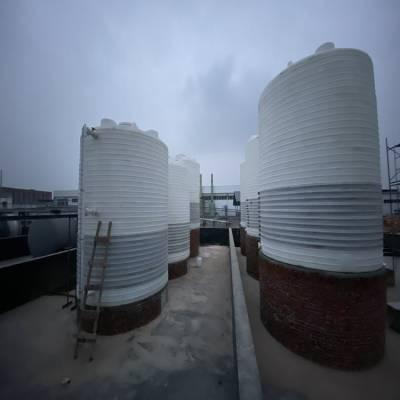 厂家供应15000L塑料罐 全塑储罐 PE化储存罐