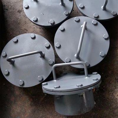 厂家直销不锈钢水平吊盖人孔 美标回转吊盖人孔