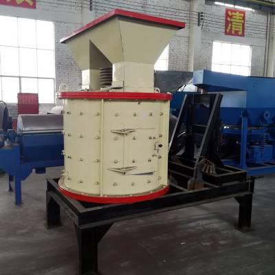 厂家定制整套制砂设备 高效小型鹅卵石立式复合式破碎机 风化石石英石破碎机
