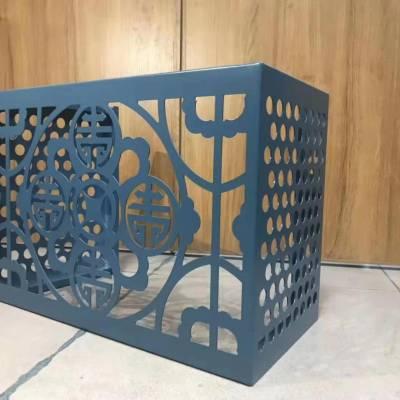 品牌铝单板幕墙厂家定制价格低 镂空雕花冲孔木纹石纹铝单板空调外机罩
