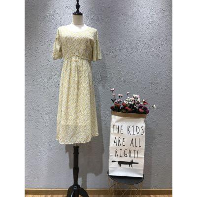 西子恋品牌2019夏季新款连衣裙批发走份