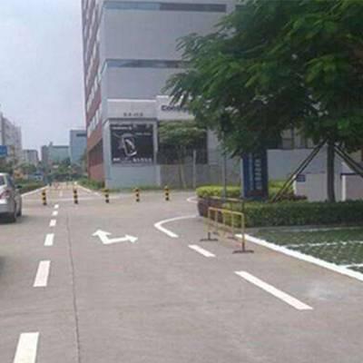 停车场划线费用-中科众安划线工程-福州停车场划线