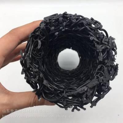 热销塑料盲沟规格齐 全透水盲沟泰安世高厂家直销 塑料盲沟