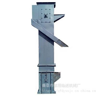 双出料口粮食单斗提升机_怀化市4米高新型翻斗式提升机价格