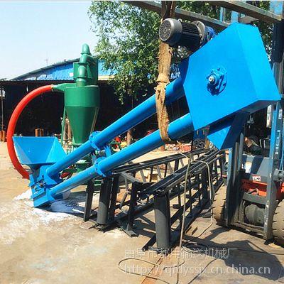 安徽粉料盐管链输送机 不锈钢管链输送机 定做Z型管链输送机