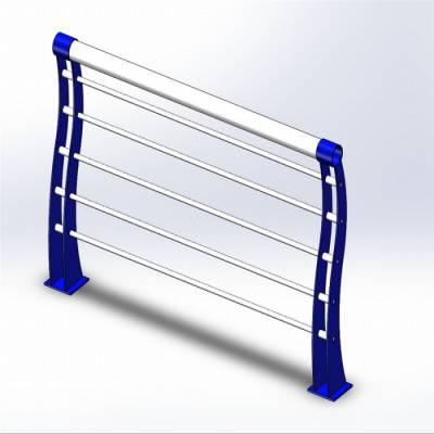 景观灯光栏杆施工-景观灯光栏杆-山东神龙金属护栏厂(查看)