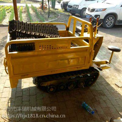 雪地小精灵履带农用防滑运输车 履带拖拉机工具车