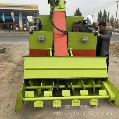 养殖场不损地皮清粪车 新时代养殖规模必备铲粪车 润丰机械