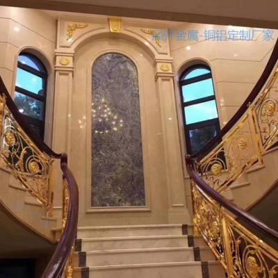 黎城艺术别墅楼梯立柱说明信息