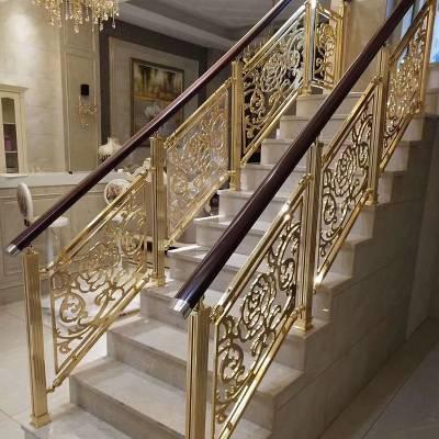 厂家定制楼梯扶手 不锈钢 家用楼梯护栏 不锈钢楼梯扶手立柱
