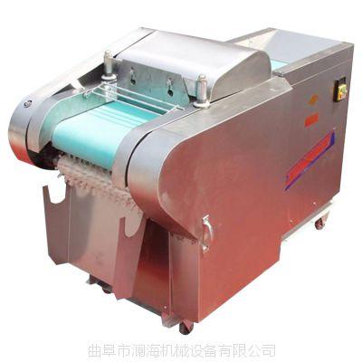 电动产量大操作简单蔬菜切菜机 高速切丁机 价格合理 澜海牌