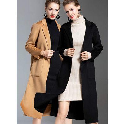 开服装店的货源渠道埃文潮流双面羊毛羊绒大衣毛呢