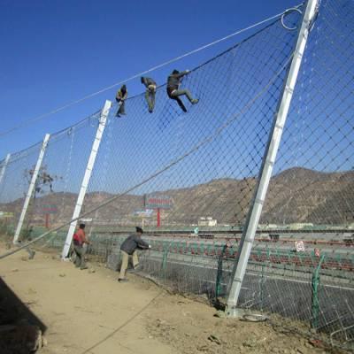 四川被动环形防护网防滑坡被动边坡防护网钢丝绳网