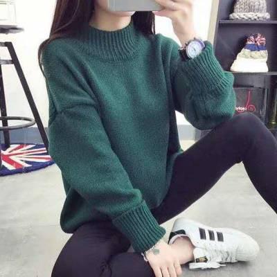 女式毛衣 库存尾货杂款服装女式毛衣 韩版女秋冬装套头毛衣