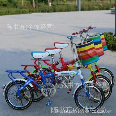 儿童折叠自行车 16寸童车带减震 学生车 厂家直销 一件代发