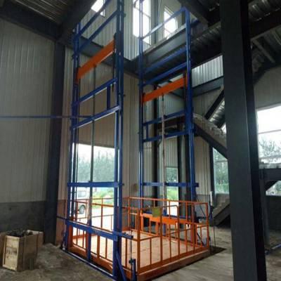 襄阳导轨链条式升降平台 厂房专用货梯 仓库提升机