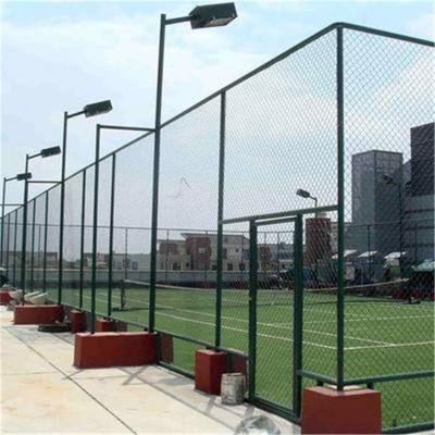 排球场地围网 体育训练场地防护网 浸塑防护网厂家