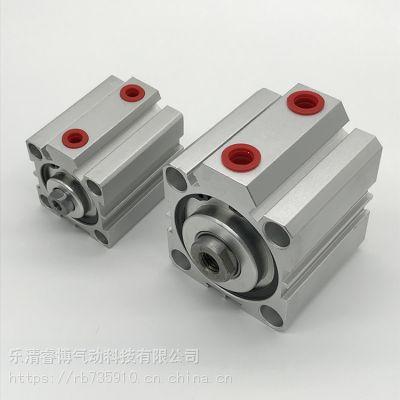 亚德客型铝合金SDA32*50薄型气缸带磁性