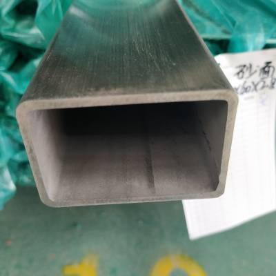 100*140*6.5不锈钢方管壁厚卫生级不锈钢方管抛光标准不锈钢方管国家
