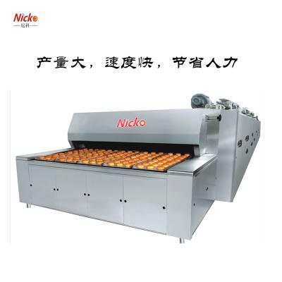 尼科烘焙设备 大型流水线作业隧道炉 面包汉堡月饼商用隧道炉 大型工业烤炉设备