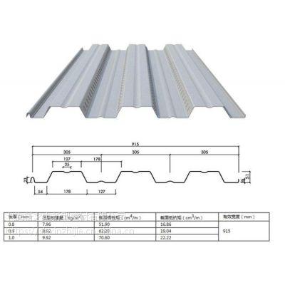 常用开口楼承板YX51-305-915_建筑用压型钢板_上海新之杰
