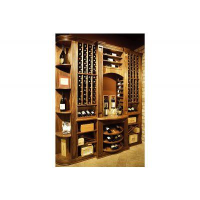 实木酒窖工厂-通化实木酒窖-森雅木业(查看)