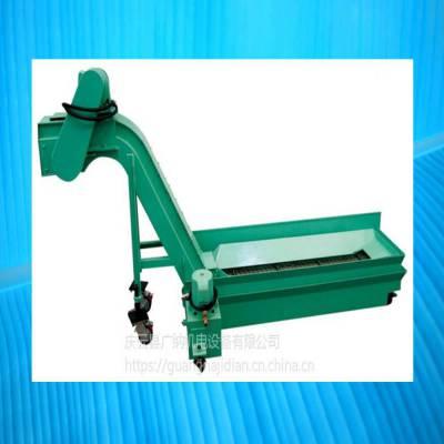 广纳6140车床铁屑废渣料链板输送排屑机