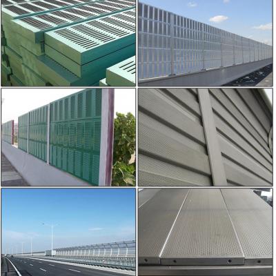 铁路吸音墙厚度-6mm厚高速发泡铝隔音板-风机噪音声屏障直销工厂