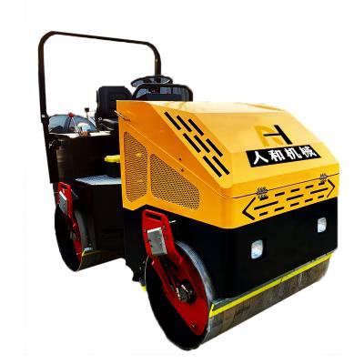 春光无限好柴油4吨双钢轮带驾驶室振动压路机 小型路面压实机 沥青路面压实机 人和厂家