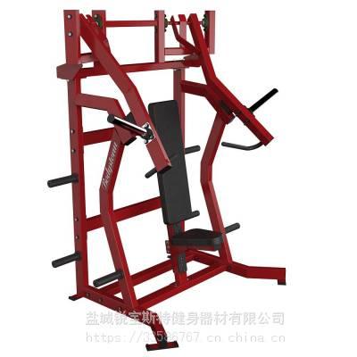 上斜推胸(水平把手)悍马挂片力量商用健身器械