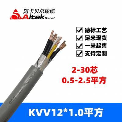 kvv12x1.0 kvvr rvv rvvvp控制电缆护套线海路通