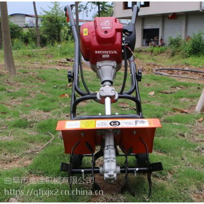 大棚草莓旋耕松土机-金佳多功能除草机-小型旋耕犁地松土机