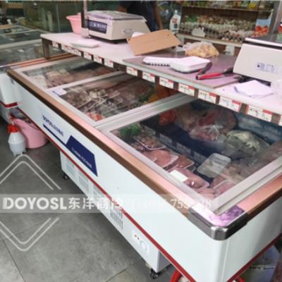 广州东洋鲜肉展示柜、鲜肉保鲜柜、鲜肉冷藏柜