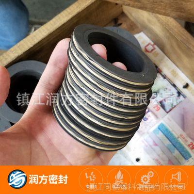 耐磨四氟PTFE材料工程机械级塑料王密封圈 耐磨四氟环 填充碳纤维