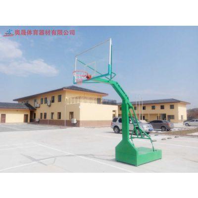郴州室内外标准篮球架液压式固定式移动式篮球架厂家批发