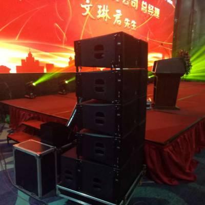 天津音响设备租赁专业供应各大会展演出活动音响设备
