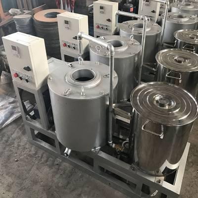 新型离心式滤油机 一次过滤60斤食用油重力分离花生滤油机设备